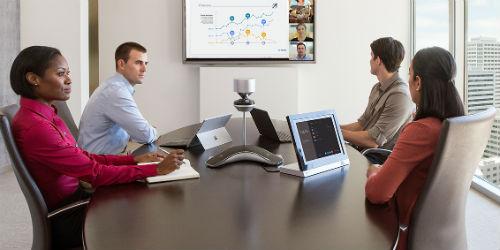 equipo de videoconferencias para empresas