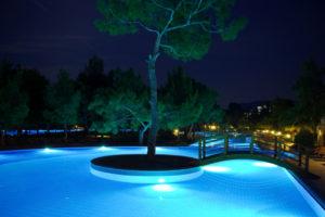 Focos para iluminación de piscinas en nicaragua