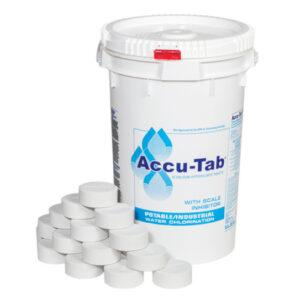 Accutab tabletas de cloro