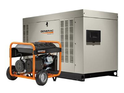 planta electrica portatil y estacionario generac